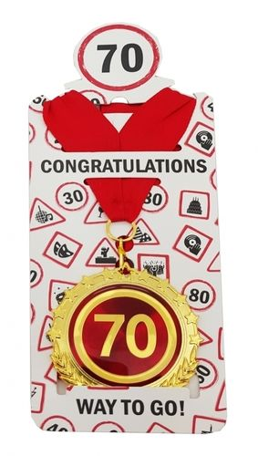 "Medaille ""70"""