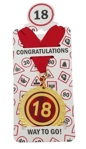 "Medaille ""18"""