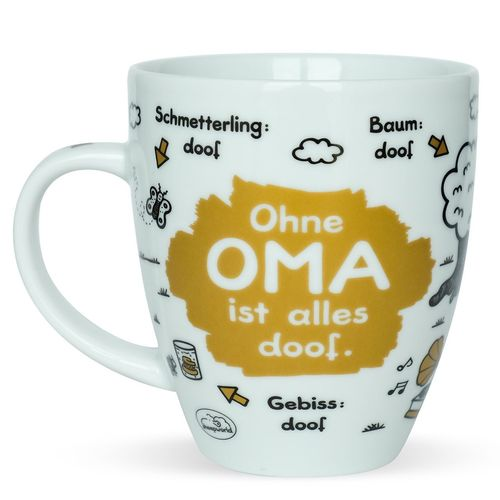 "Becher ""Ohne Oma..."""