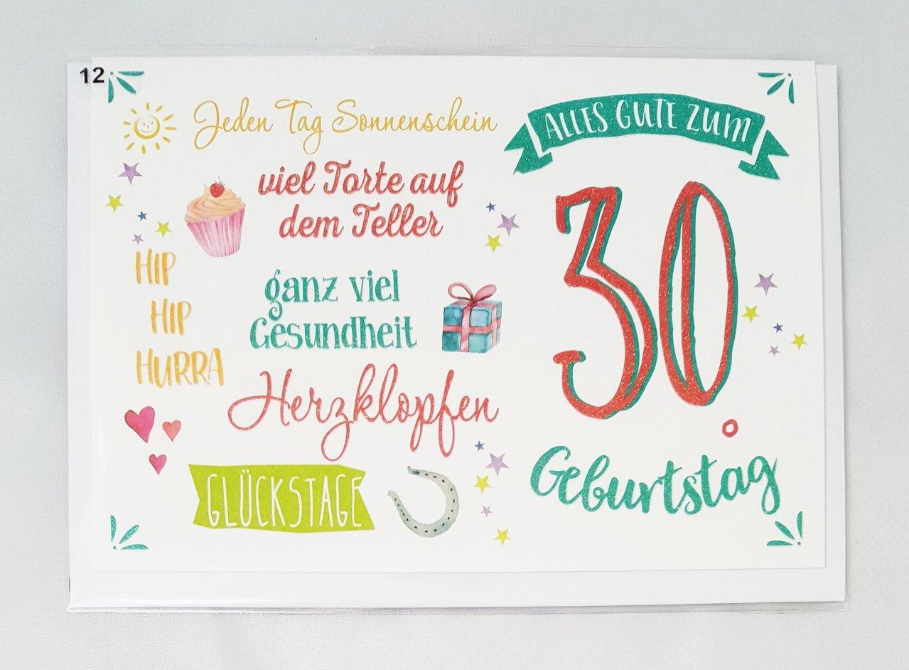 Geburtstagsglückwünsche Zum 30 Geburtstag