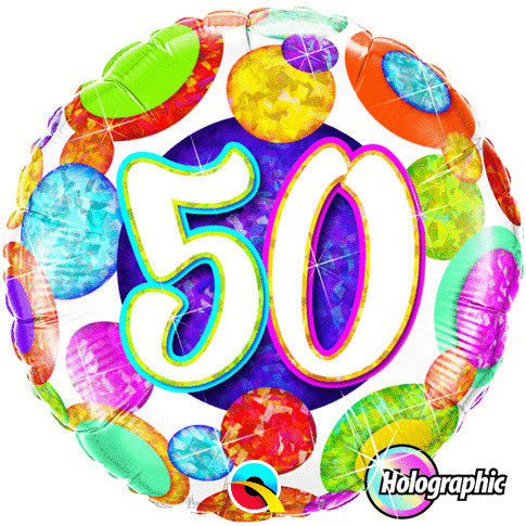 "Folienballon ""50"""