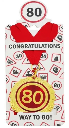 "Medaille ""80"""