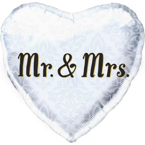 "Folienballon ""Mr. & Mrs."""