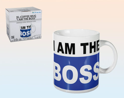 "Riesen-Becher ""I am the Boss"""