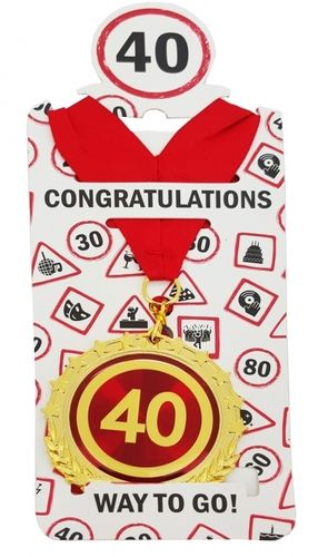 "Medaille ""40"""