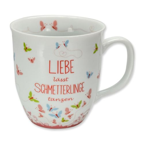 "Becher ""Schmetterlinge"""