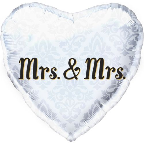 "Folienballon ""Mrs. & Mrs."""