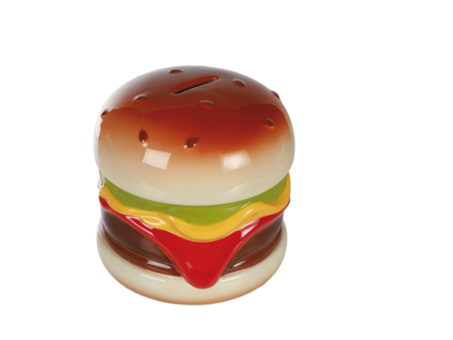"Spardose ""Hamburger"""