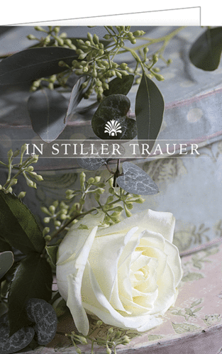 "Trauerkarte ""In stiller Trauer"""